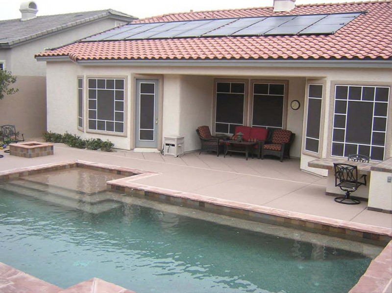 solar pool heating las vegas nevada